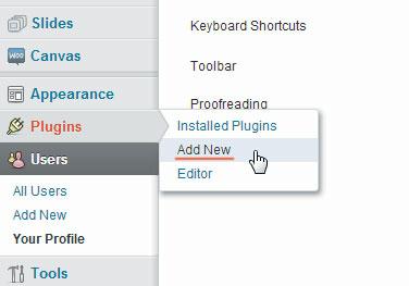 Tambahkan plugin baru.