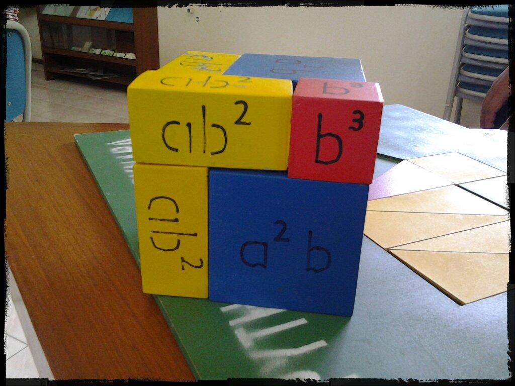 Pembuktian Rumus Aljabar (a+b)^3