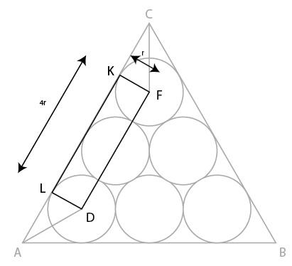 Menghitung luas persegi panjang LDFK.