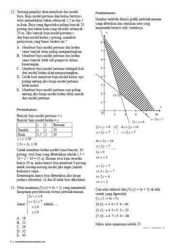 Soal Pembahasan Ujian Nasional Matematika Teknik 2016-06