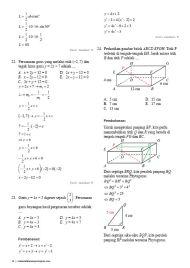 Soal Pembahasan Ujian Nasional Matematika Teknik 2016-10