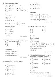 Soal Pembahasan Ujian Nasional Matematika Teknik 2016-15