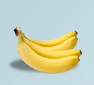 Satu sisir dengan 4 pisang